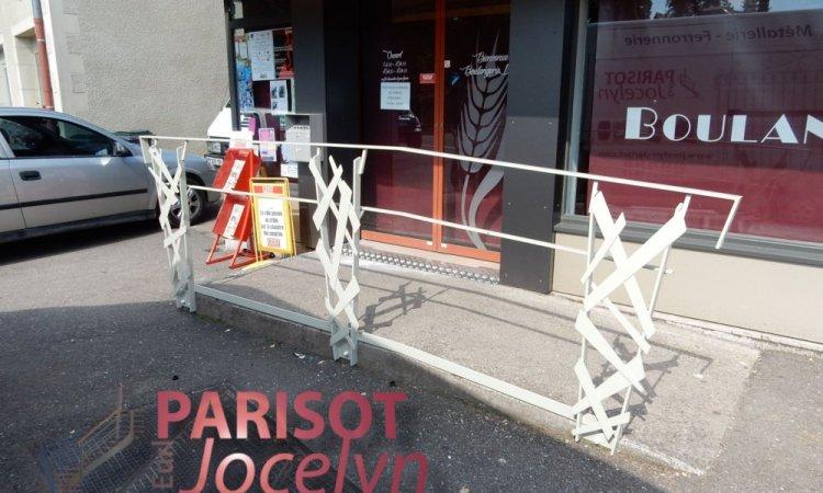 Garde corps extérieur métal et tôle découper personnalisés sur-mesure  sur rampes d'accès,  à Frotey-lès-Vesoul, Métallerie PARISOT Jocelyn