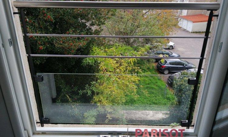 Protection de fenêtre métal et verre sur mesure, Vesoul, Métallerie PARISOT Jocelyn