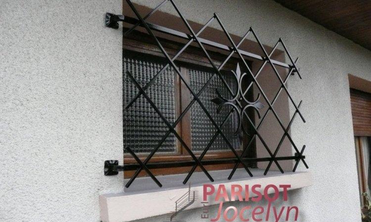Protection de fenêtre sur mesure à Vesoul, Métallerie PARISOT Jocelyn