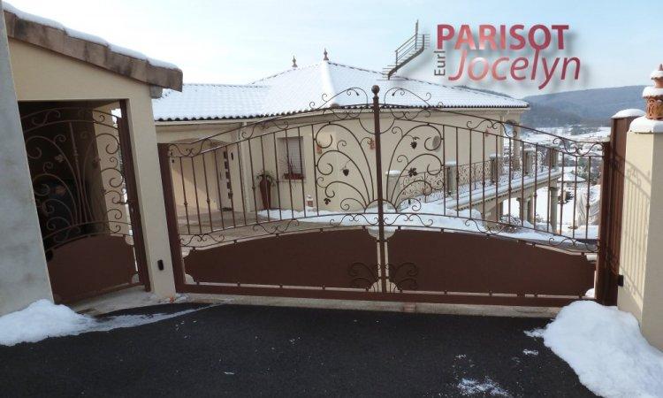 Portails et portillons fer forgés fait sur-mesure à l'atelier à Villers-sur-Port, Métallerie PARISOT Jocelyn Vesoul